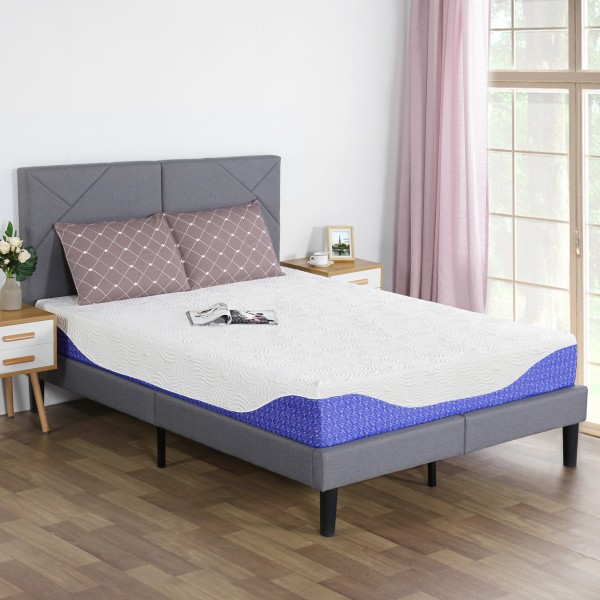 Olee Sleep 12 Inch Coast Gel Memory Foam Mattress