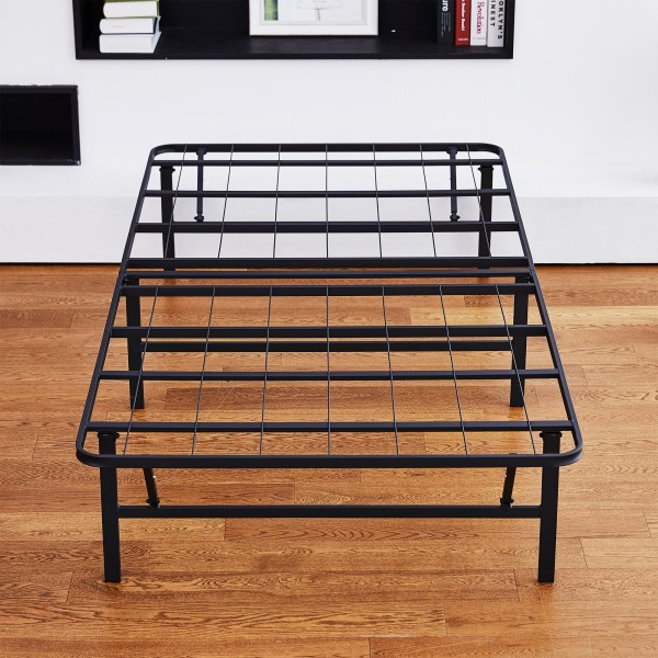 Olee Sleep 14 Inch Dura Metal Comfort Base Bed Frame