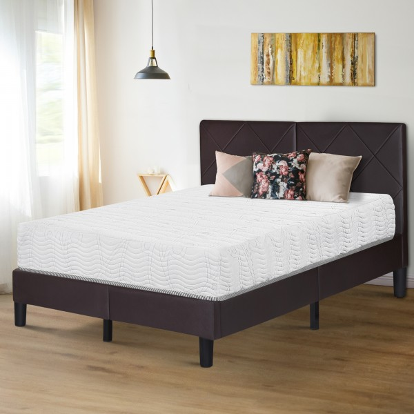 Olee Sleep 10 Inch Omega Hybrid Spring Mattress