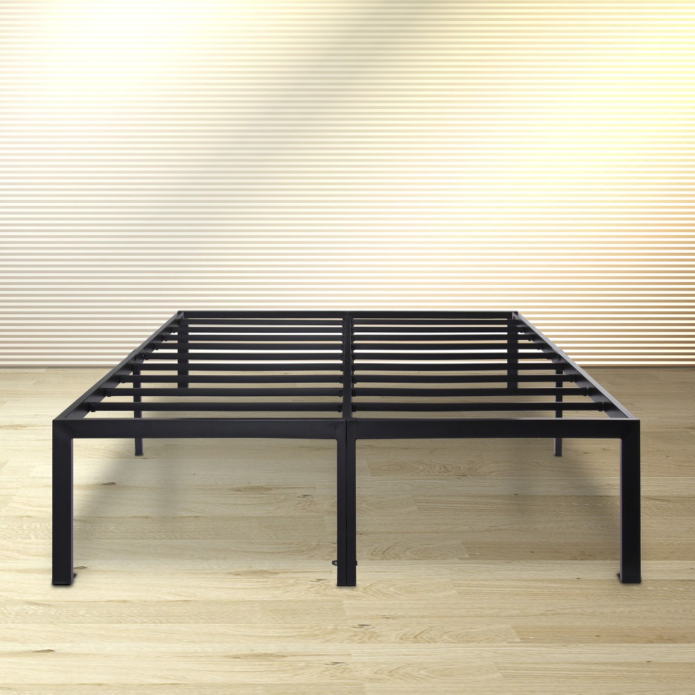 Olee Sleep 18 Inch Dura Metal Steel Slate Bed Frame - T3000