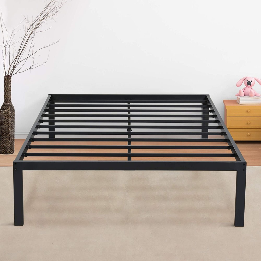 Olee Sleep 18 Inch New Dura Metal Steel Slate Bed Frame